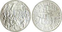 SAN  MARINO ,  SAINT  MARIN ,  500  LIRE  ARGENT  1978   FLEUR  DE  COIN