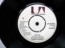 """KENNY ROGERS Lucille-Till I Get It Right UA 7"""" 1976"""