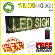 LED SIGN 1M Yellow Scrolling Programmable Moving Message Window Display 990x190