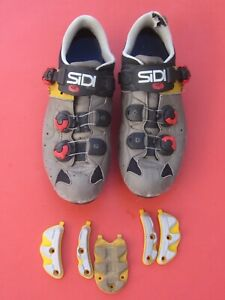 SiDi Action 2 SRS mens 47 EUR / 12 US MTB CX shoe spin mountain Full buckle