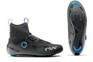 Northwave Celsius R Arctic GTX Winter Road Cycling Shoes in Black/Reflective