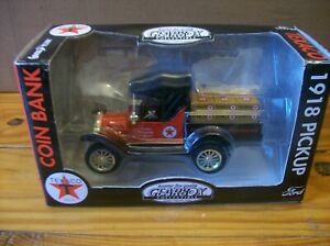 Gearbox Texaco 1918 Pickup Coin Bank