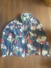 Staple Pigeon Floral design Rain Jacket Size L