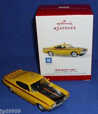 Hallmark Ornament 2014 Classic American Cars #24 1970 Buick GSX Die Cast NIB