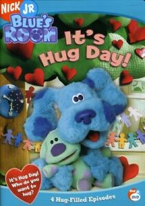 BLUE'S CLUES: BLUE'S ROOM - IT'S HUG DAY NEW DVD