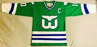 1982 Ron Francis Hartford Whalers Green Jersey Size Men's Large
