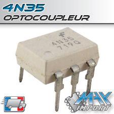 Optocoupleur 4N35 Phototransistor - DIP-6 - 30V - Lots multiples, prix dégressif