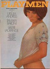 PLAYMEN giugno 1970 Sergio Leone Kuznetsov Ursula Andress Tamara Baroni