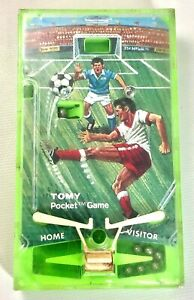 Vintage TOMY Soccer Pocket Game 1975, Japan (#AR4106)