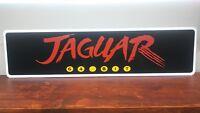 """Jaguar 64 bit aluminum sign 6"""" x 24"""""""