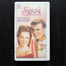 SISSI - ROMY SCHNEIDER - KARLHEINZ BOHM  - VHS
