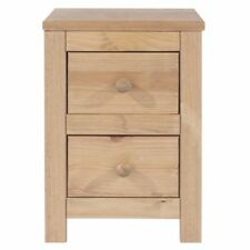 Pine Contemporary 51cm-55cm Height Bedside Tables & Cabinets
