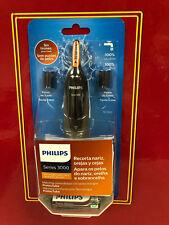 NEUF Philips NT3160 Tondeuse pour rince-nez de sourcil d'oreille de nez lavable