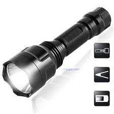 2200LM  CREE Q5 LED C8 Portable Flashlight 18650 Torch Lamp Light #UP