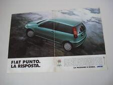 advertising Pubblicità 1995 FIAT PUNTO 55