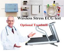 New CONTEC8000S Wireless Stress ECG/EKG Analysis System,Exercise stress ECG Test