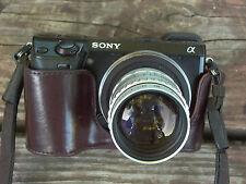 Soligor 50mm F:1.4 TV Cmt. m25 Lens F:1.4 m4/3 Nex Q VL-1 GRX 8 blade BOKEH 9+