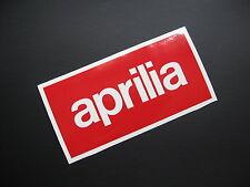 APRILIA vinyl logo decal stickers x2