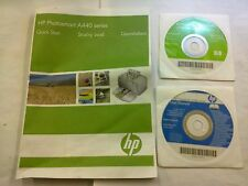 HP Photosmart A440 Windows & Mac Driver + User Manual DISCHI & Quick Start Guide