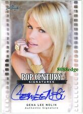 2011 LEAF POP CENTURY AUTO: GENA LEE NOLIN - AUTOGRAPH BAYWATCH/PLAYBOY/MAXIM