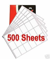 18 per A4 Sheet x 500 Quality ADDRESS LABELS FREE P&P