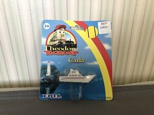 Factory Error? Vintage Theodore Tugboat Carla New In Package SEE PHOTOS