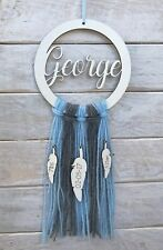 Personalised Dream Catcher Nursery Room Decor Dreamcather Wool
