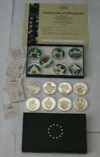 More details for european currency 15x coin collection european union currencies coa limited ed