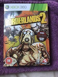 BOX & CASE ONLY Borderlands 2 (Microsoft Xbox 360, 2012)