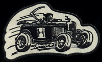 Roadster Patch Grim Reaper tattoo Hot Rod Motorcycle chopper Kustom Kulture Race