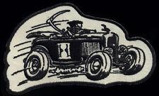 Roadster Patch Grim Reaper tattoo Hot Rod Motorcycle chopper Kustom Kulture Race
