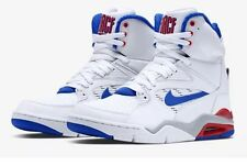 NWT Mens Nike Men Air Command Force  Shoes - White/Blue - #684715-101-Sz-6