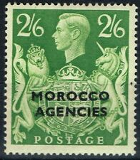 Morocco Agencies 1949 2s6d Yellow-Green SG92 Fine Very Lightly Mtd Mint