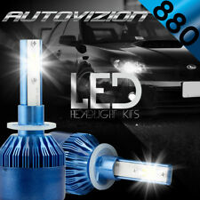 AUTOVIZION LED HID Foglight Conversion kit 881 6000K for Buick Electra 1989-1989