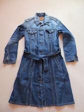 Levi's Jeans Jacke Mantel, Jeansmantel, Gr. M, Vintage Denim mit KULT Waschung !