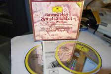 Claudio Abbado Mahler symphony nr.3 1st W.Germany pressing 2 cd Catalog DGG 84!