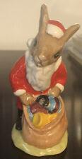 """Royal Doulton Santa Bunnykins - """"Happy Christmas"""" - Excellent Condition!"""