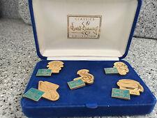 WDCC 5th Anniversary Commemorative 5 Pin Set