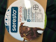 Bayer Seresto Flea and Tick Collar for Dogs, 8 Month Protection - Large Dog