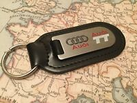 AUDI TT Key Ring Etched and infilled