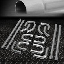 "16Pcs 2.5""Od Diy Custom Exhaust Tubing Mandrel Bend Pipe Straight & U-Bend Kit"