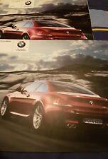 BMW M6 range brochure 2005 & price list
