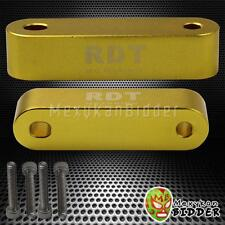 Gold Aluminum Sport Racing Hood Spacer Riser Kit Honda Civic 1988-2000 EF EG EK
