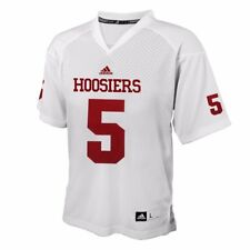 167ef30acae adidas Indiana Hoosiers Youth #5 Replica Football Jersey - White Yth L