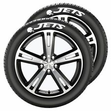 New York Jets Tire Tatz 2 Pack [NEW] Decal Auto Wheel Car Rubber NFL CDG