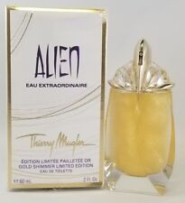 Alien Eau Extraordinaire by Thierry Mugler 2 Oz EDT Sp Refillable Gold Shimmer