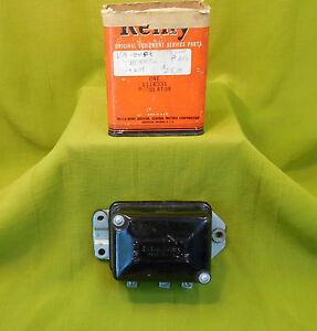 NOS Delco 6V Voltage Regulator 49 Packard 2200 8  Super 8  1948 1949 1950 1951