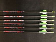 Black Eagle Intrepid 600 .006 Fletched Youth Field Arrows (6 Arrows) Brand New