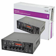 QTX Kad2bt Digital Stereo Amplifier With Bluetooth 55w Tuner USB & SD