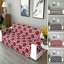 123 Seaters Anti-Slip Sofa Covers Quilted Throw Cover Couch Pet Protector Padded